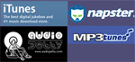 digital distributors of GBM, I tunes, mperia,audiojelly,napster